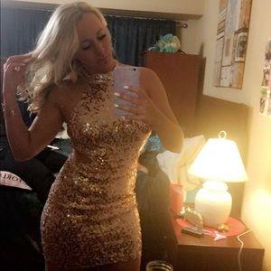 Sparkling mini dress!